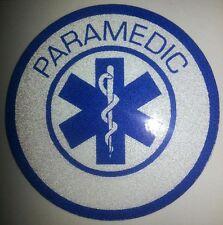 """Paramedic,Star of Life, Decal, EMS, 3.75""""Wide  #EM24"""