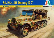 Italeri  1/35 Sd.Kfz.10 Demag D7 #6443