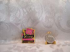 USA CYCLING U.S. Olympic Festival Rainbow Foods 1990 Hat Lapel Pin Badge