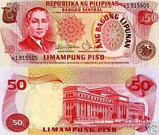 Philippines, 50 Piso ND (1978) P-163, UNC > REPLACEMENT