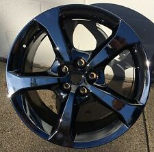 """SET OF 4 20"""" 2013-2015 Camaro SS Staggered PVD Black Chrome Wheels"""