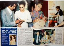 ROCIO JURADO => RECORTE de prensa 6 PAGINAS 1987 // Spanish CLIPPING !!!
