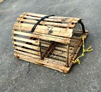 Vintage Wooden Lobster Trap  - From Maine