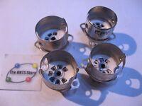 Tube Socket 7-Pin Ceramic w. Metal Flange and Shield Locking Base Qty 4