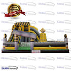 33x23ft Commercial Inflatable Nuclear Zone Bounce Playground With Air Blower