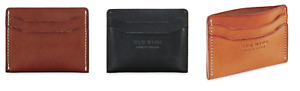 Red Wing Card Holder - Black, Oro and Tan