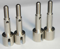Precisiongeek 2x Replacement Stainless Wheel Axles 50823/9805369 Tamiya TA02