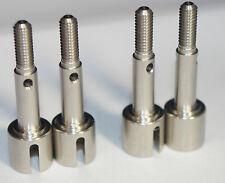 2 x Tamiya Wheel Axle Part #50823/9805369 TG10 TA01 TA02 TA04 TA05 M03 TL01 TB0