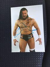 WWE DREW McINTYRE signé autographié photo wrestlecrate Drew Galloway