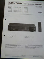Original Service Manual  Grundig RCD 405