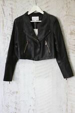 Motorcycle Hand-wash Only Solid Coats & Jackets for Women