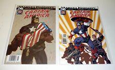 CAPTAIN AMERICA #23, 24 Marvel Comics Lot Run of 2 Marvel Knights NM-NM+ 2004