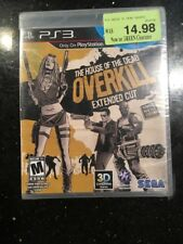 HOUSE OF THE DEAD Overkill Extended PS3 Sony PlayStation 3 New Sealed