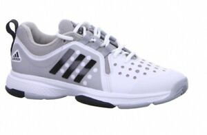 Adidas Hallenschuhe Herren Barricade Classic Bounce Gr. 43 1/3 weiß S78392