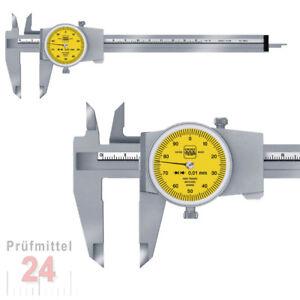Messschieber Uhrenmessschieber mit Rundskala 150 / 0,01 mm TESA CCMA-M 00510050