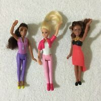 Lot 3 x Barbie McDonalds Happy Meal Figures Toy Bundle Lot