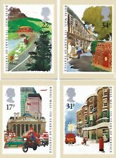 Royal Mail Stamp Postcards PHQ 85 Royal Mail 350 years 1985 Complete