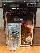 Star Wars Vintage Collection Mandalorian Carbonized Cara Dune Figure WEAR