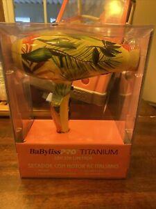 BaByliss Pro Titanium Limited Edition Italian AC Motor Hair Dryer
