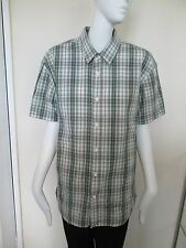 LEVI STRAUSS - GREEN MULTI CHECKED Shirt SIZE LARGE, 100% Cotton