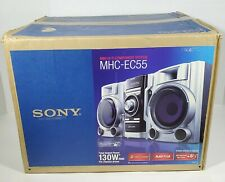 Sony HiFi Component Stereo System MHC-EC55 3-disc MP3 BRAND NEW Complete REMOTE
