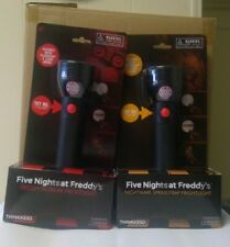 2 Five Nights At Freddy's Frightlights NEW Extra Batteries Included Read Details