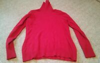 000 Red St. John's Bay Turtleneck Long Sleeve Size Medium