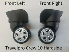 Travelpro Luggage Crew 10 Hardside Replacement Part Spinner Wheels