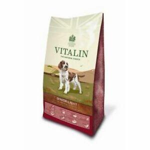 12kg VITALIN NATURALS SALMON & POTATO SENIOR LITE COMPLETE DOG FOOD NO WHEAT