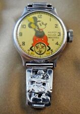 1933 Disney Ingersoll Mickey Mouse Watch Chromed Links