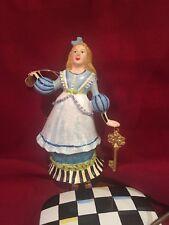 """MacKenzie Childs """"Alice in Wonderland"""" Ornament Nwt!"""