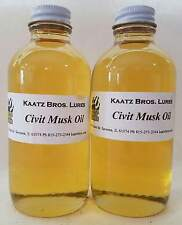 Civit Musk Oil Civet Oils Musks Civits Civets Trapping Lure Ingredients 8 oz Fur
