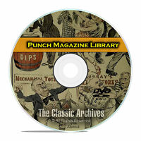 Punch Magazine, British Humor Comics Satire, 78 Volumes, 2028 Issues DVD E43