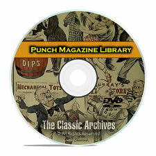 Punch Magazine, British Humor Comics Satire, 78 Volumes, 2028 Issues DVD E43