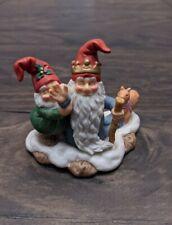 Fitz and Floyd Holiday Hamlet Old Royal Elf no box Christmas Figurines