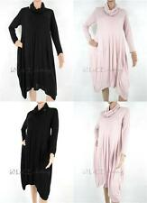 Casual Knee Length No Pattern Dresses Size Tall for Women