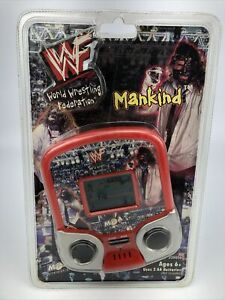 MGA ENTERTAIMENT WWF LCD Hand Held GAME MANKIND WWF WWE MADE IN 1999 Sealed