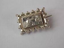Victorian 925 Silver Brooch