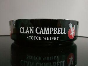 Large Clan Campbell Ashtray, Home Bar, Man Cave, Retro Breweriana