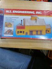 Life Like Trains Ho Structure Kit #1364 W.S. Engineering Inc.