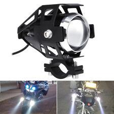 2 x 125W Motorcycle Motorbike LED U5 Headlight Driving Fog Spot Lights