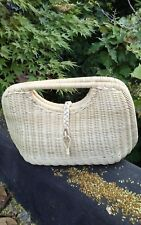 Ethnic Handwoven Rattan Atagrass Bag Bali for all occasions