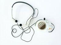 Sony Walkman SRF-M85V Mega Bass AM FM Radio Original Headphones MDR-W014 Clip On