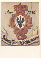 AK: Posthausschild Preußen 1776 (2)