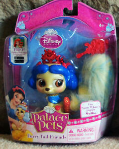 Disney Princess Palace Pets Furry Tail Friends Snow White's Puppy Muffin New