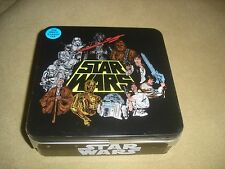 NEW Star Wars collector tin with Men's (XL) t-shirt Darth Vader Chebacca C3PO
