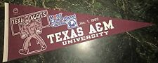 TEXAS A&M 1992 and 1993 COTTON BOWL PENNANTs