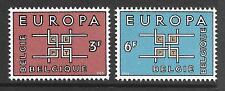 BELGIUM 1963 EUROPA   SG 1862-63 SET 2 MNH.