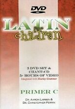 Latin For Children Primer Level C Set 3 DVDs + Chant CDs - Dr Christopher Perrin