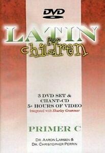 Latin For Children Primer Level C Set 3 DVDs + Chant CDs - Dr Christopher Perrin